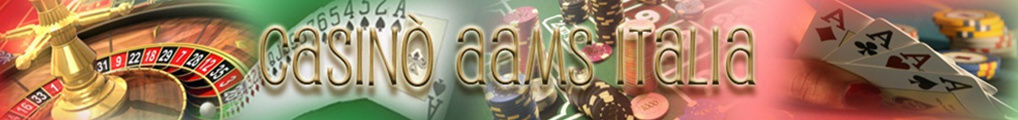 header casino aams italia
